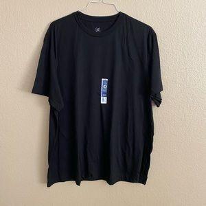 George Black T-Shirt for Men Size 2XL